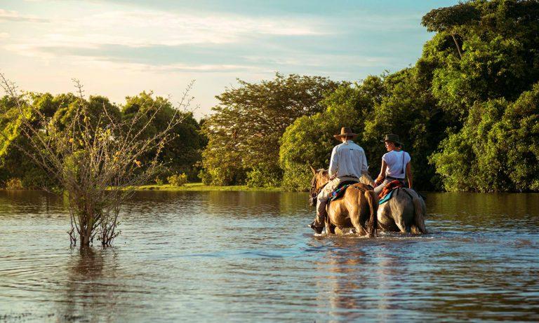Horseback Riding - Corocora Wildlife Camp in Colombia